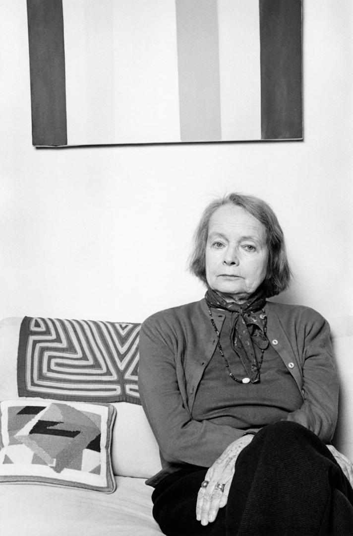 The artist and dealer Betty Parsons, photographed in 1977 by Lynn Gilbert.