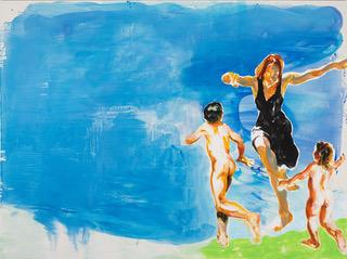 Eric Fischl Inexplicable Joy in the Time of Corona 2020. Courtesy of the artist and Skarstedt, New York.