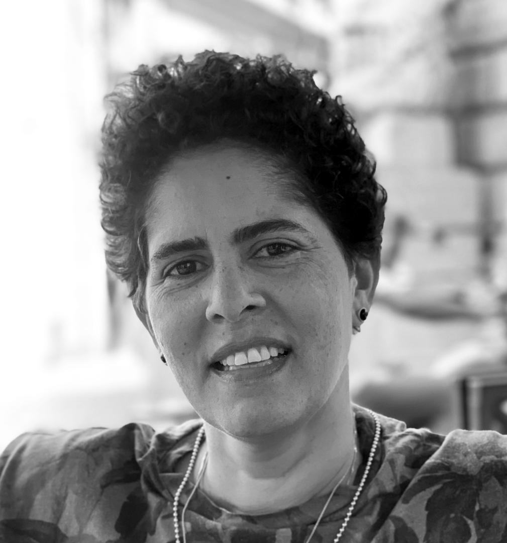 The artist Julie Mehretu. Photograph by Jessica Rankin.