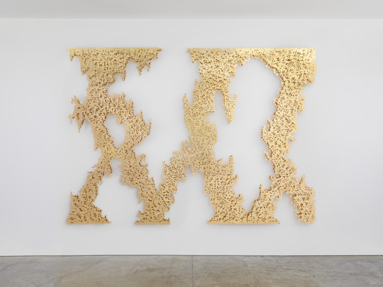 Teresita Fernandez, Ghost Vines (Yellow Gold), 2015.