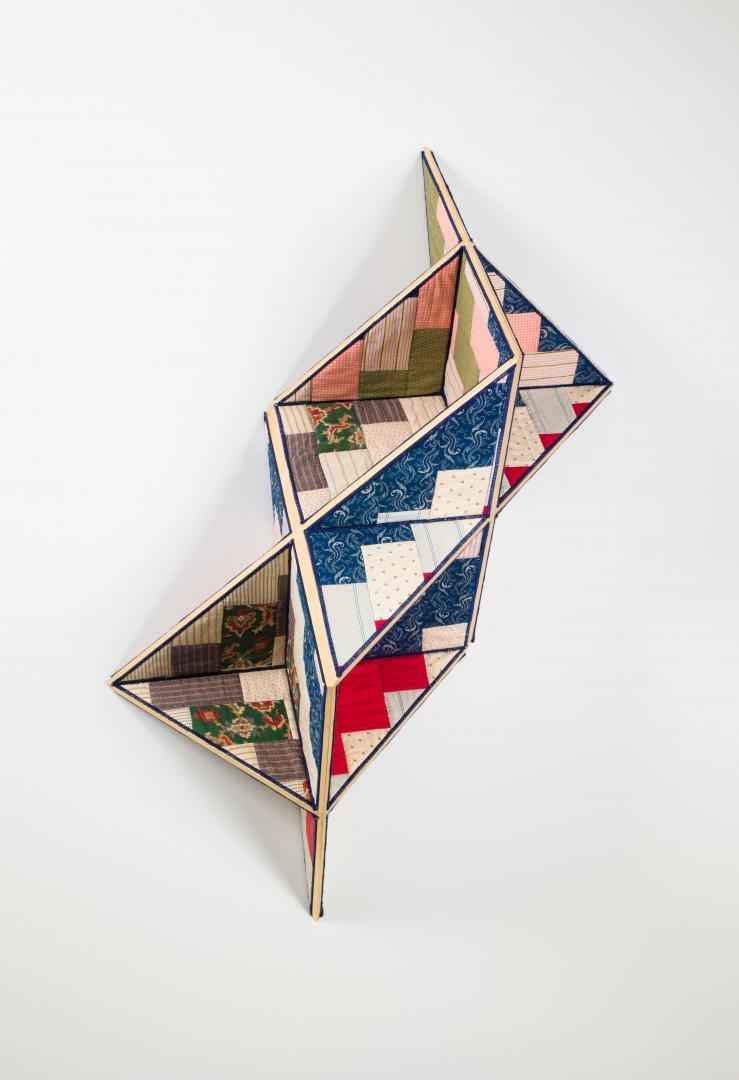 Sanford Biggers, Incidental Geometry, 2017