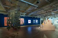 """A view of """"State of the Art 2020"""" at the Momentary. Photo courtesy of Crystal Bridges Museum of American Art."""