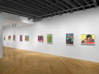 "Installation view of ""Flora,"" courtesy Aliza Nisenbaum and Anton Kern Gallery, copyright Aliza Nisenbaum."