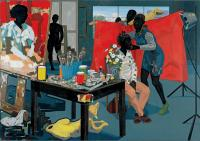 "Kerry James Marshall, ""Untitled (Studio),"" 2014. Photo courtesy of HBO."