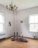 Installation shot of Dagnini, Alexander Shchurenkov / Fragment gallery, at NADA House 2021. Photo: Cary Whittier