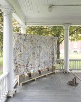 Installation shot of Matthew Kirk / Fierman gallery, at NADA House 2021. Photo: Cary Whittier
