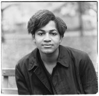 Diane Arbus, <em>Black boy, Washington Square Park, N.Y.C.</em>,1965. Gelatin silver print. © The Estate of Diane Arbus