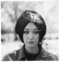 Diane Arbus, <em>Woman with eyeliner, N.Y.C.</em>, 1967. Gelatin silver print. © The Estate of Diane Arbus