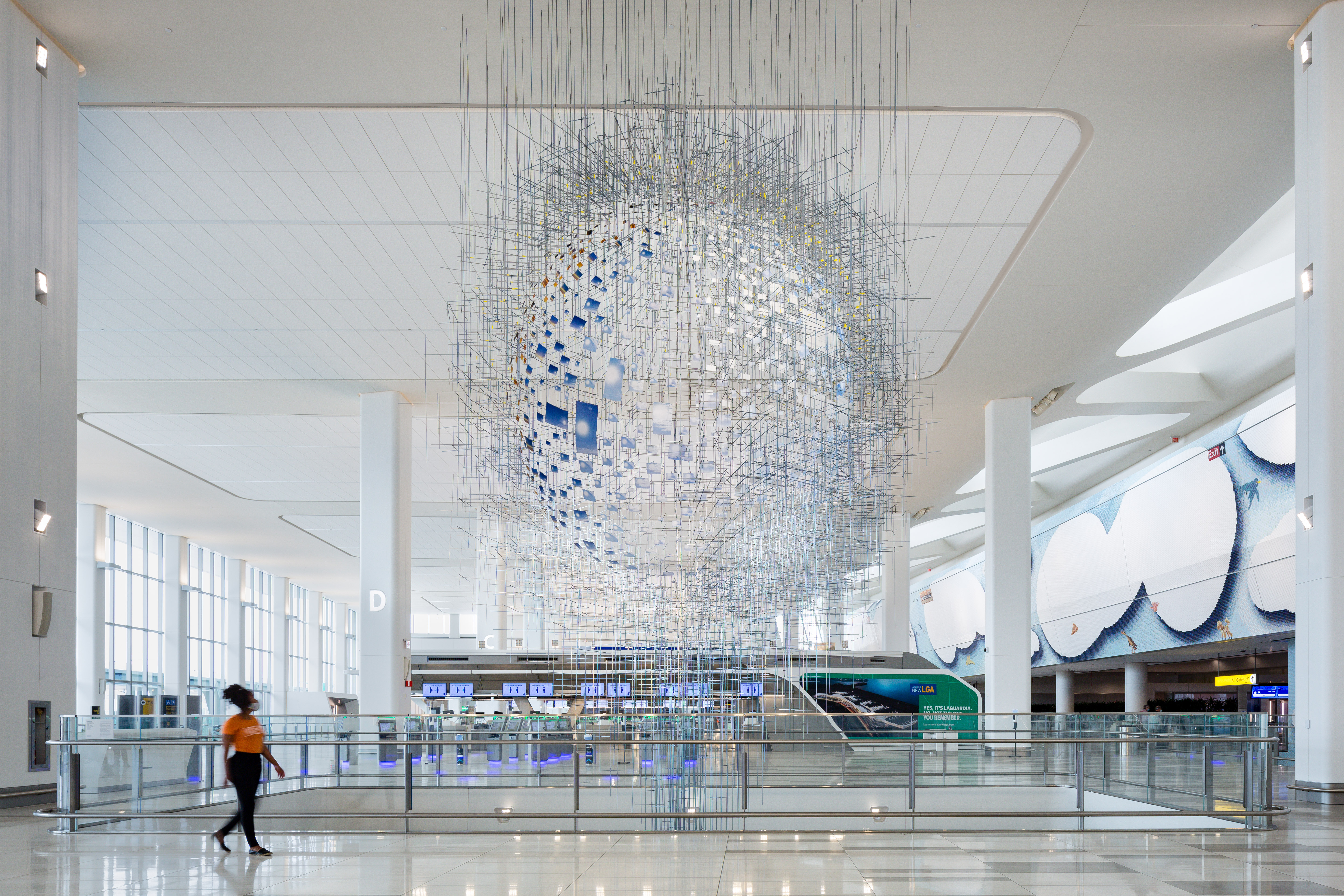 "Sarah Sze, ""Shorter than the Day,"" 2020.