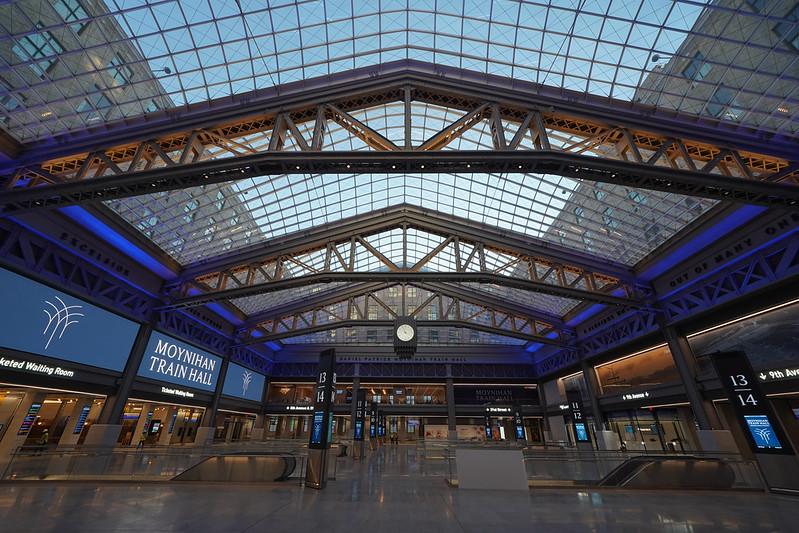 The new Moynihan Train Hall. Photo courtesy of governor.ny.gov.