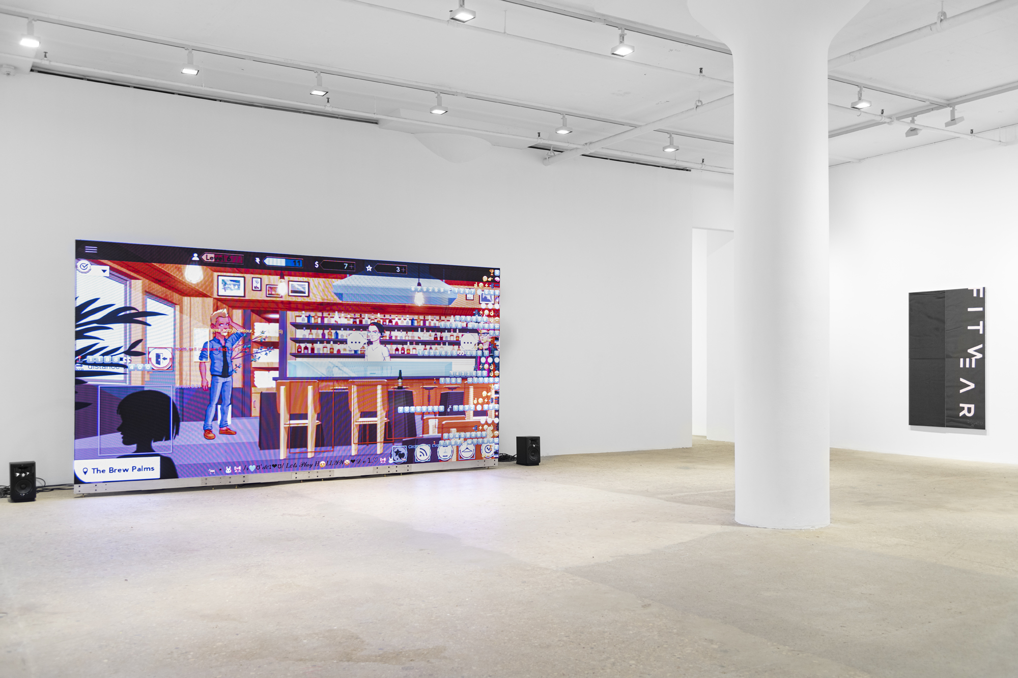 Cory Arcangel, Installation view, Century 21, Greene Naftali, New York, 2021. Courtesy the artist and Greene Naftali, New York
