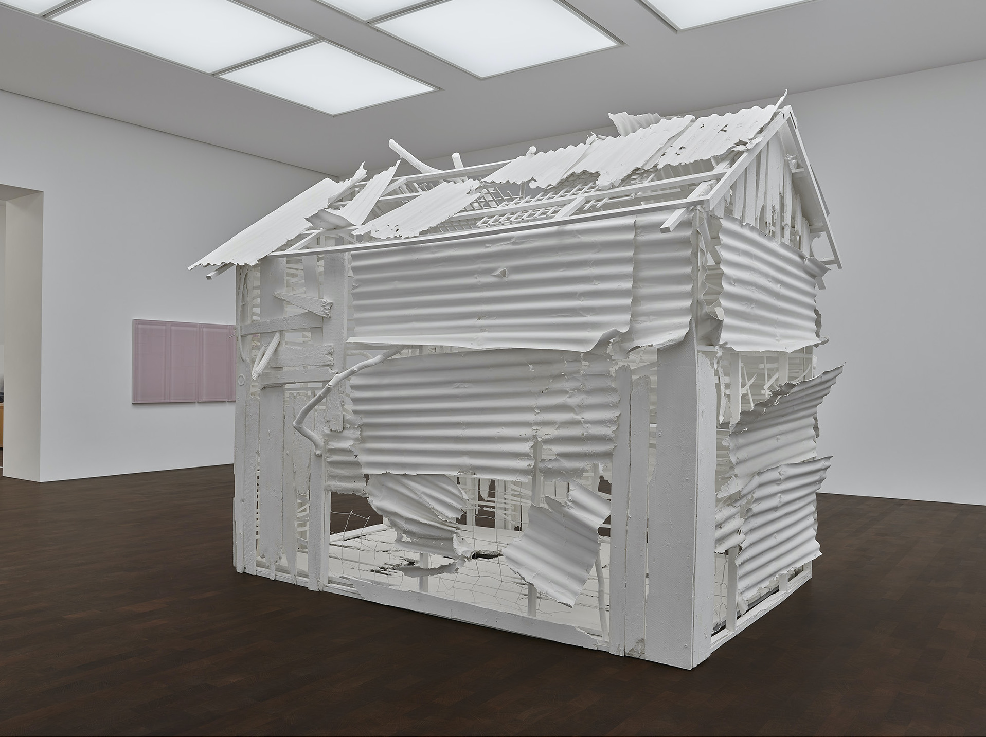 Rachel Whiteread: Internal Objects, installation view, 2021. © Rachel Whiteread. Photo: Prudence Cuming Associates. Courtesy Gagosian