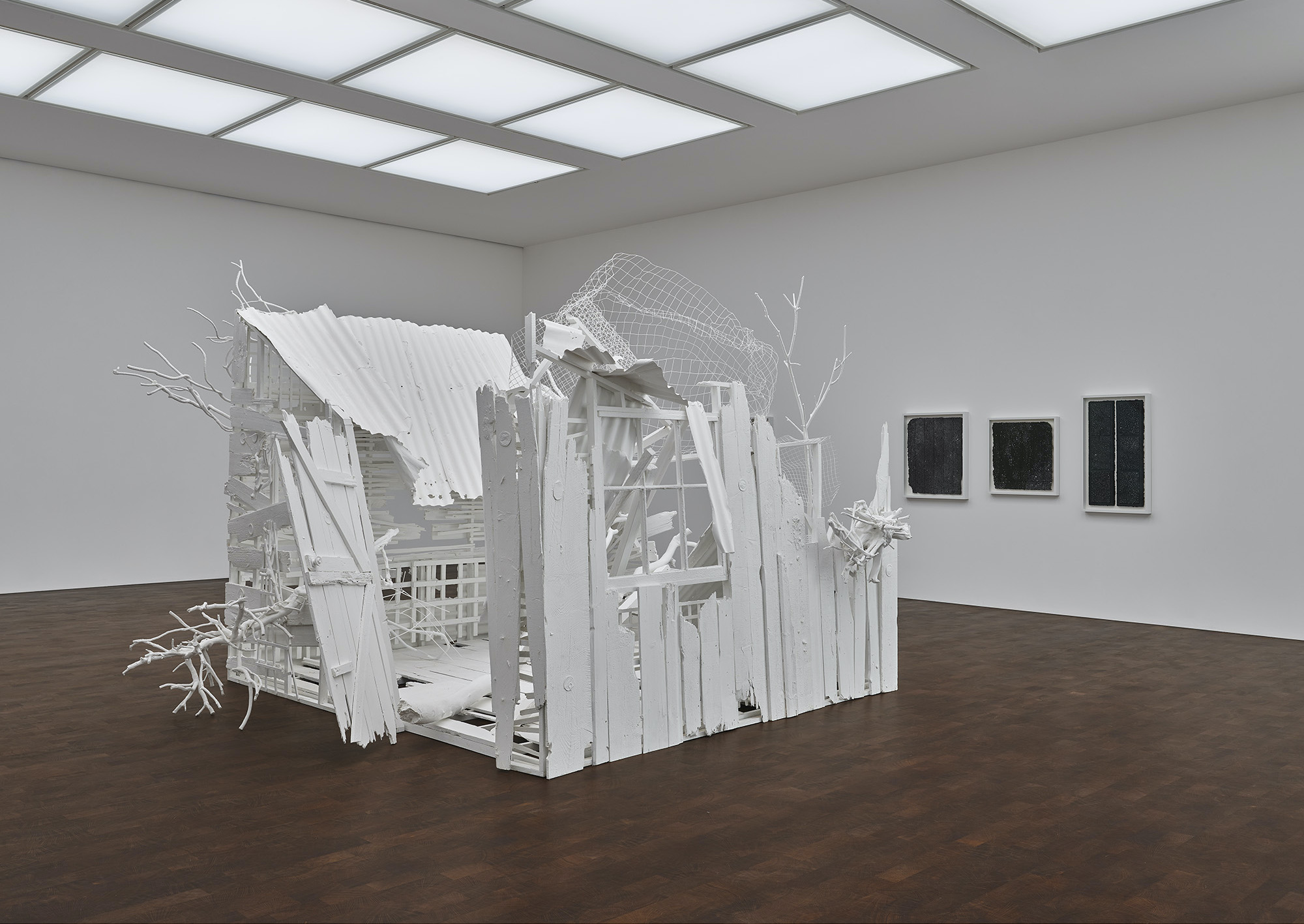 Rachel Whiteread: Internal Objects, installation view , 2021. © Rachel Whiteread. Photo: Prudence Cuming Associates. Courtesy Gagosian
