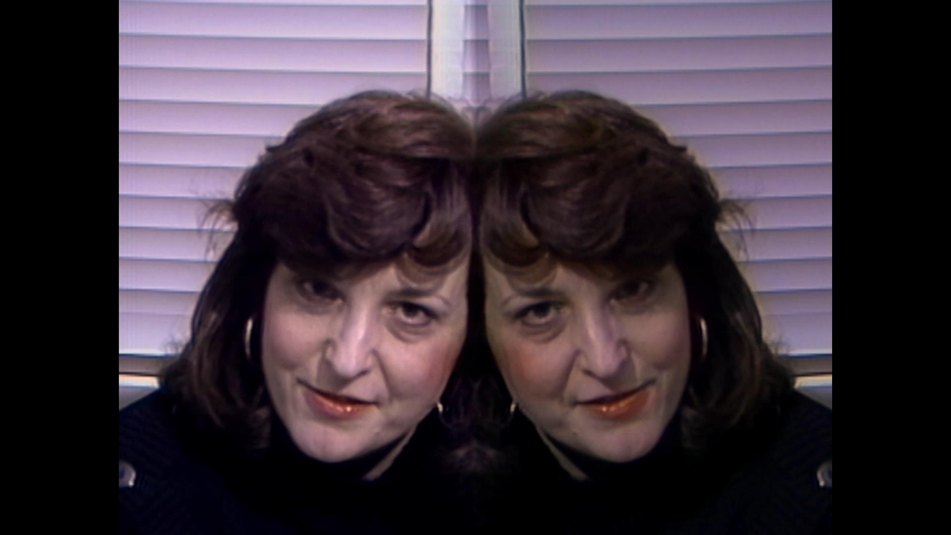 Lynn Hershman Leeson, <em>Binge</em> (1986-87) from <em>The Electronic Diaries</em>, 1984-2019 (still). Video, color, sound; 9:09 min. Courtesy the artist; Bridget Donahue, New York; and Altman Siegel, San Francisco