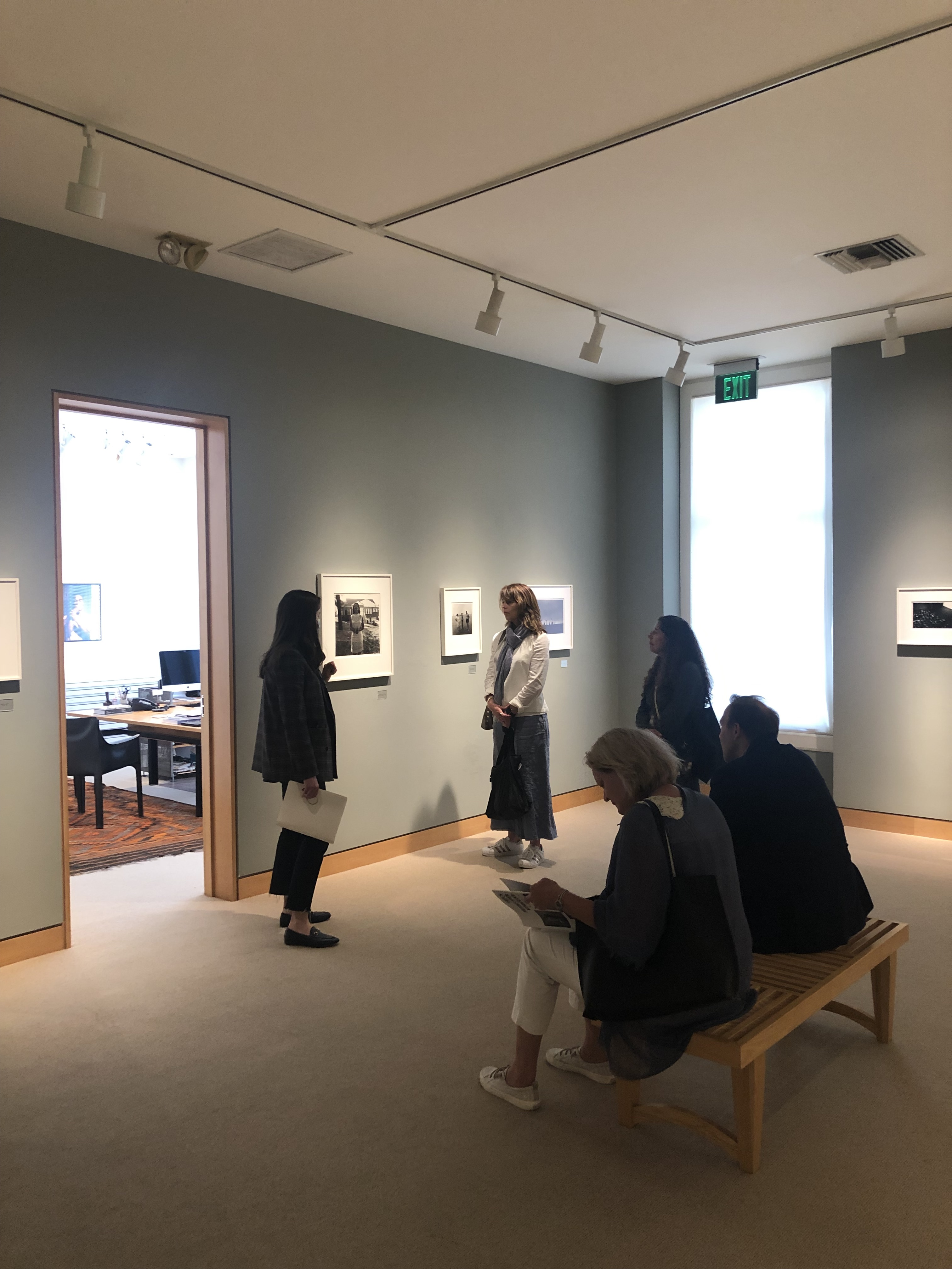 """An installation view from Artful's July 2021 visit to """"Diane Arbus Curated by Carrie Mae Weems,"""" at Fraenkel Gallery, San Francisco. Photo: Matthew Israel"""
