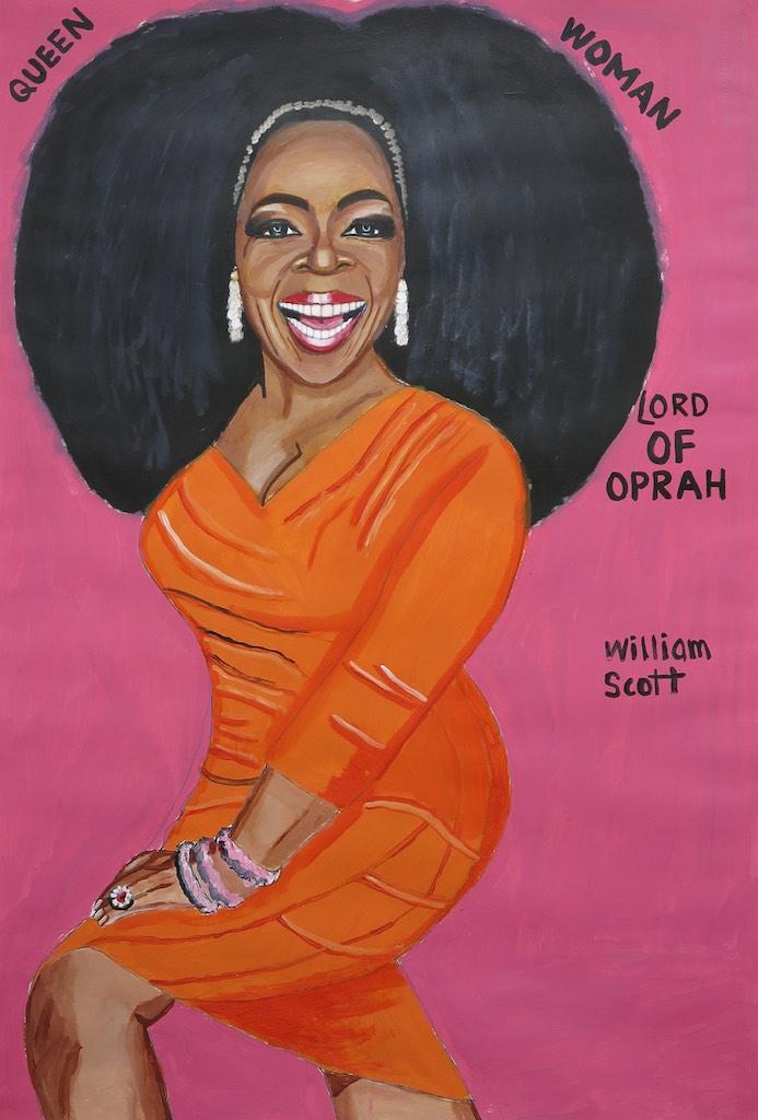 William Scott, <em>Untitled WS 181</em>, 2013. Courtesy of Creative Growth.