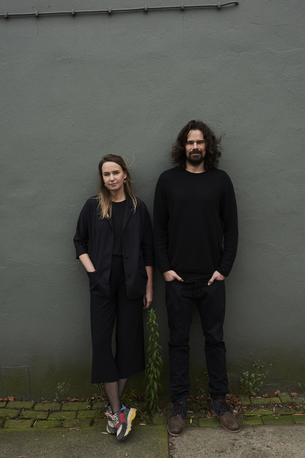 The duo Lonneke Gordijn and Ralph Nauta of DRIFT. Photo: Teska Overbeeke