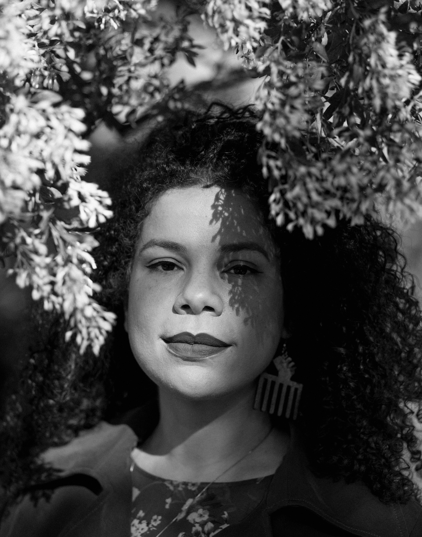 The artist Firelei Báez. Photo: Lia Clay.