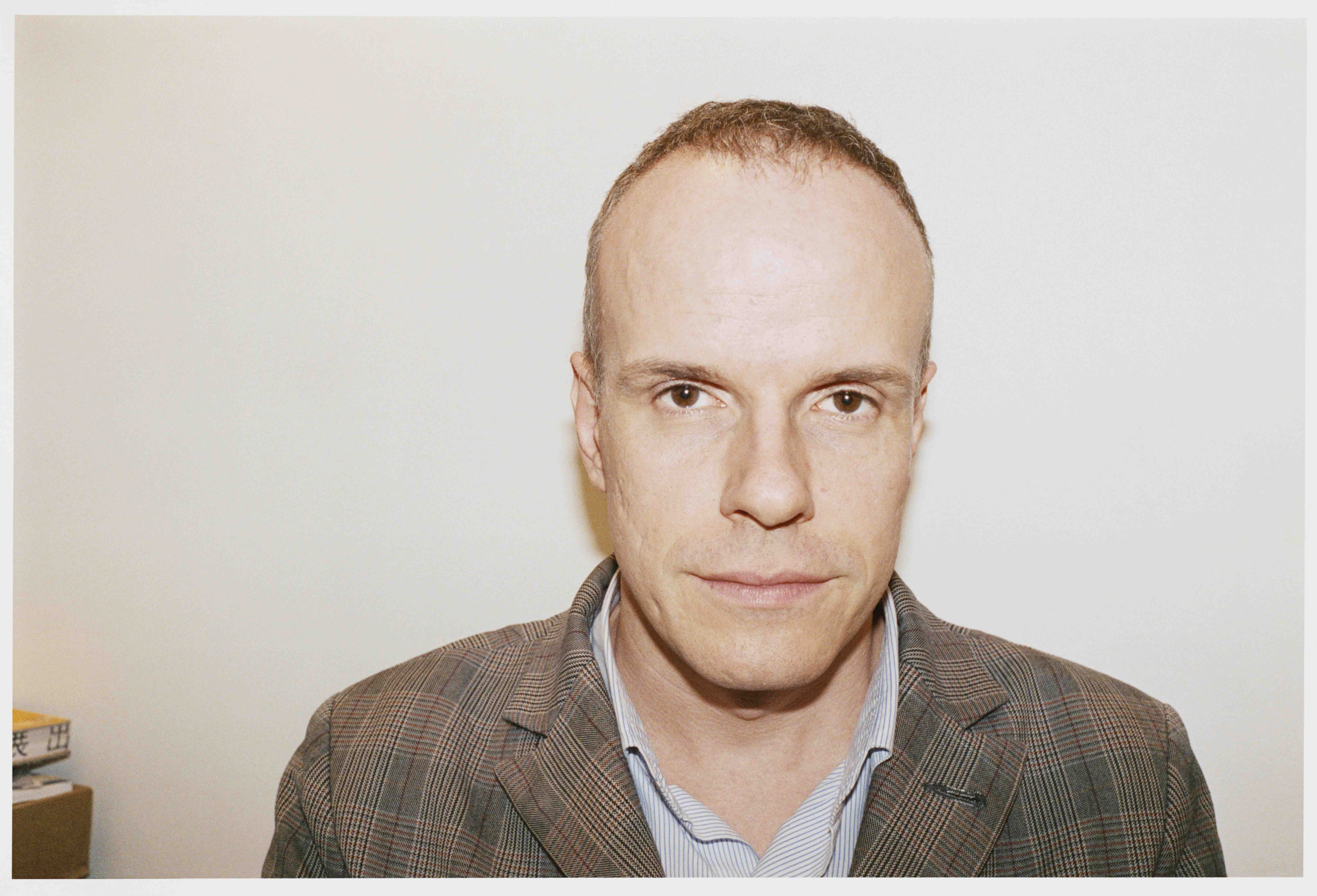 The curator and museum director Hans Ulrich Obrist. Photo: Juergen Teller.