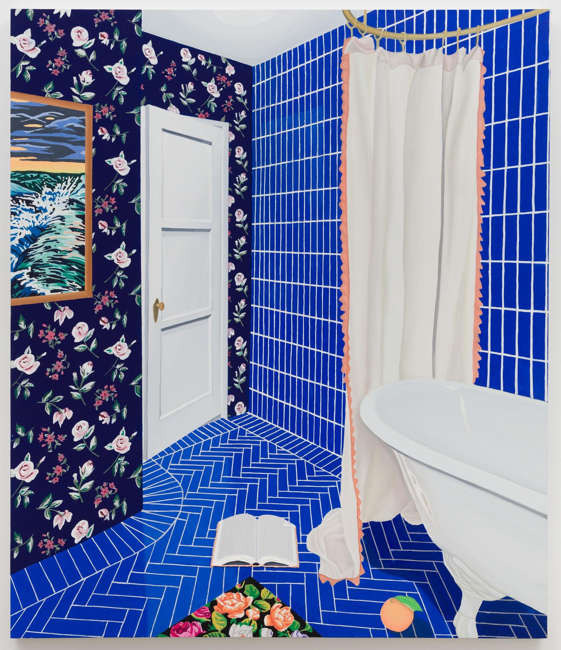 Alec Egan, Bathroom (2020). Courtesy of Anat Ebgi.