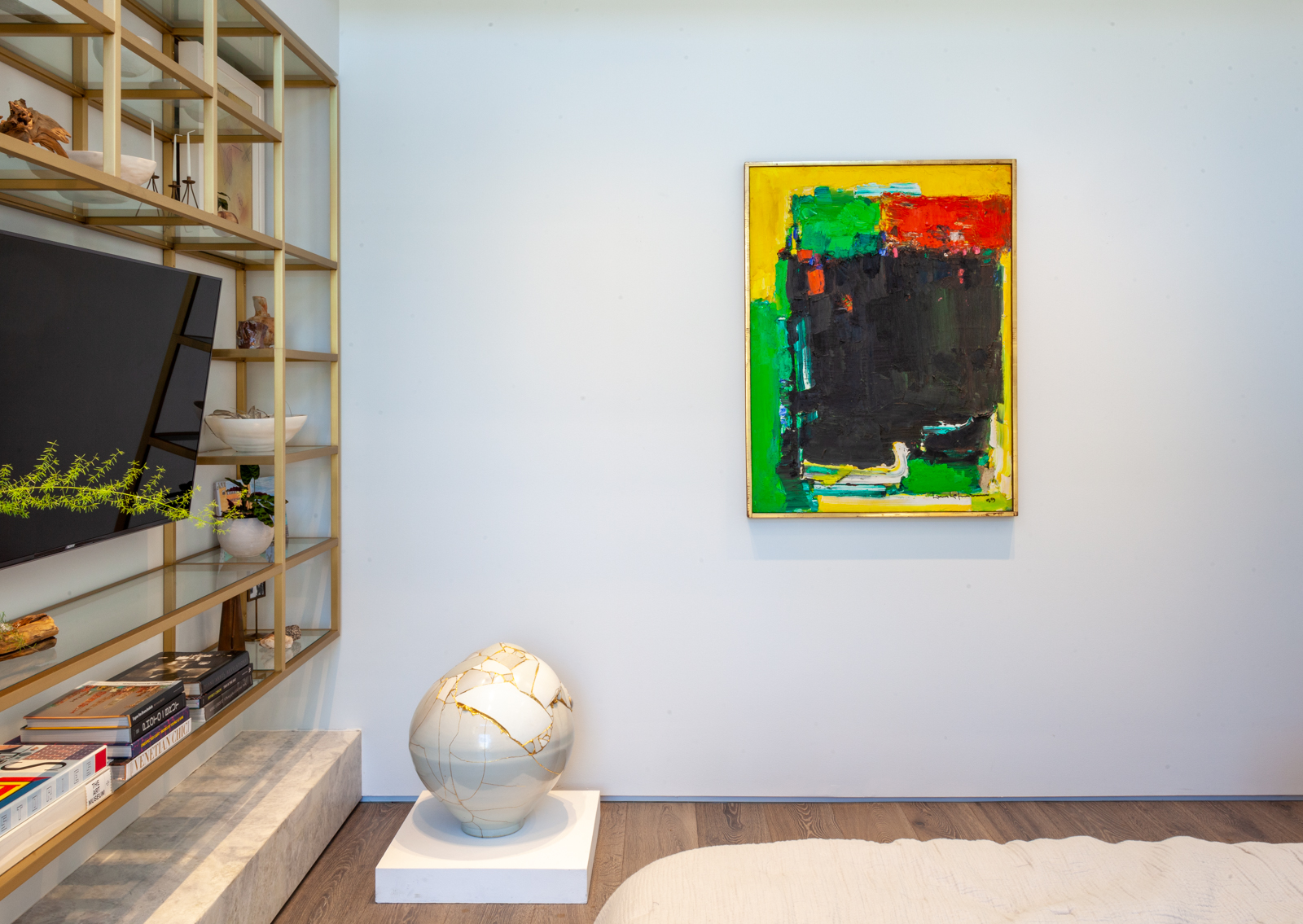 Hans Hofmann, Blissful Darkness, 1959, in the Gupta Moss collection, Chicago.