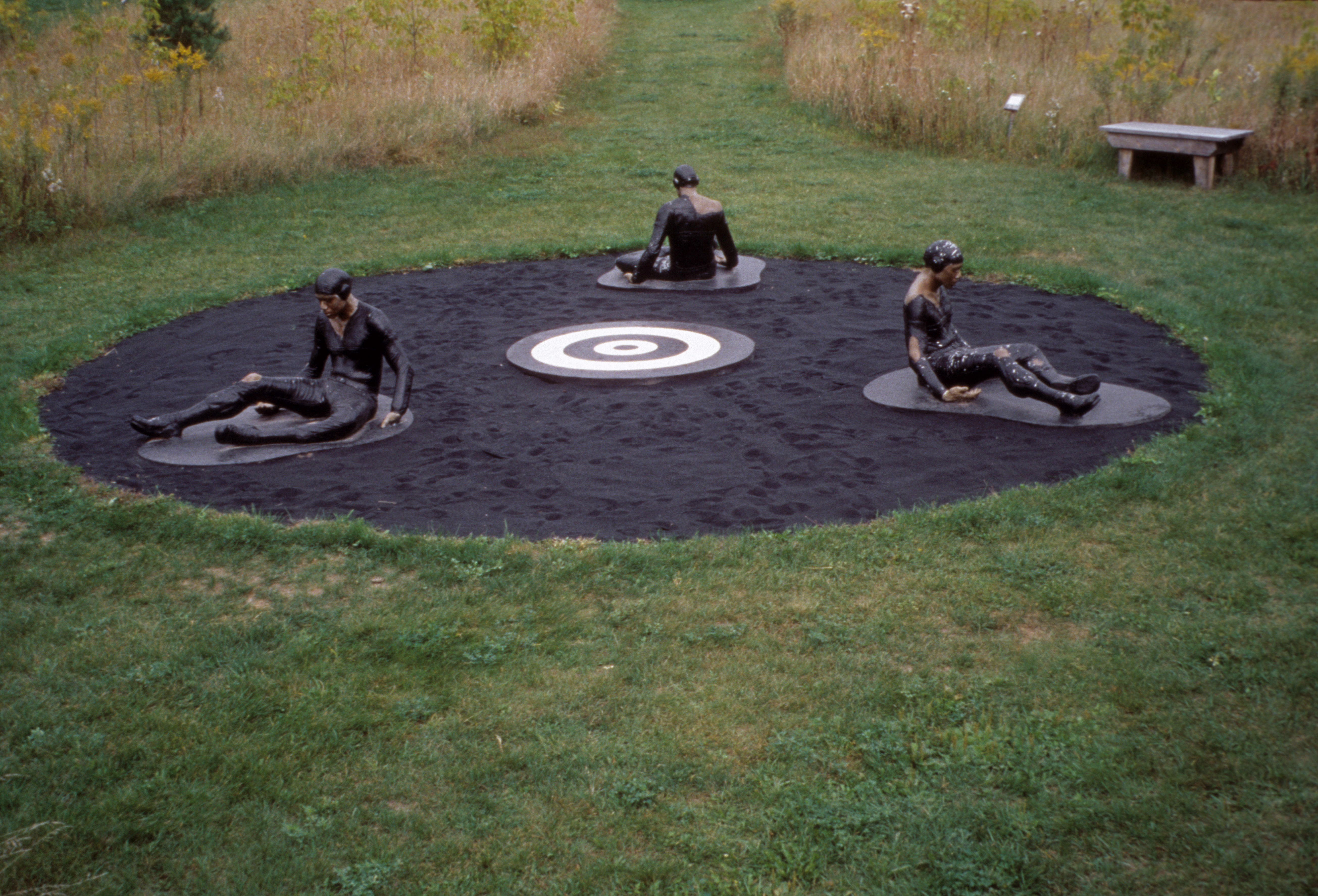 Michael Richards, Are You Down?, 2000. Installed at Franconia Sculpture Park Courtesy of the Michael Richards Estate