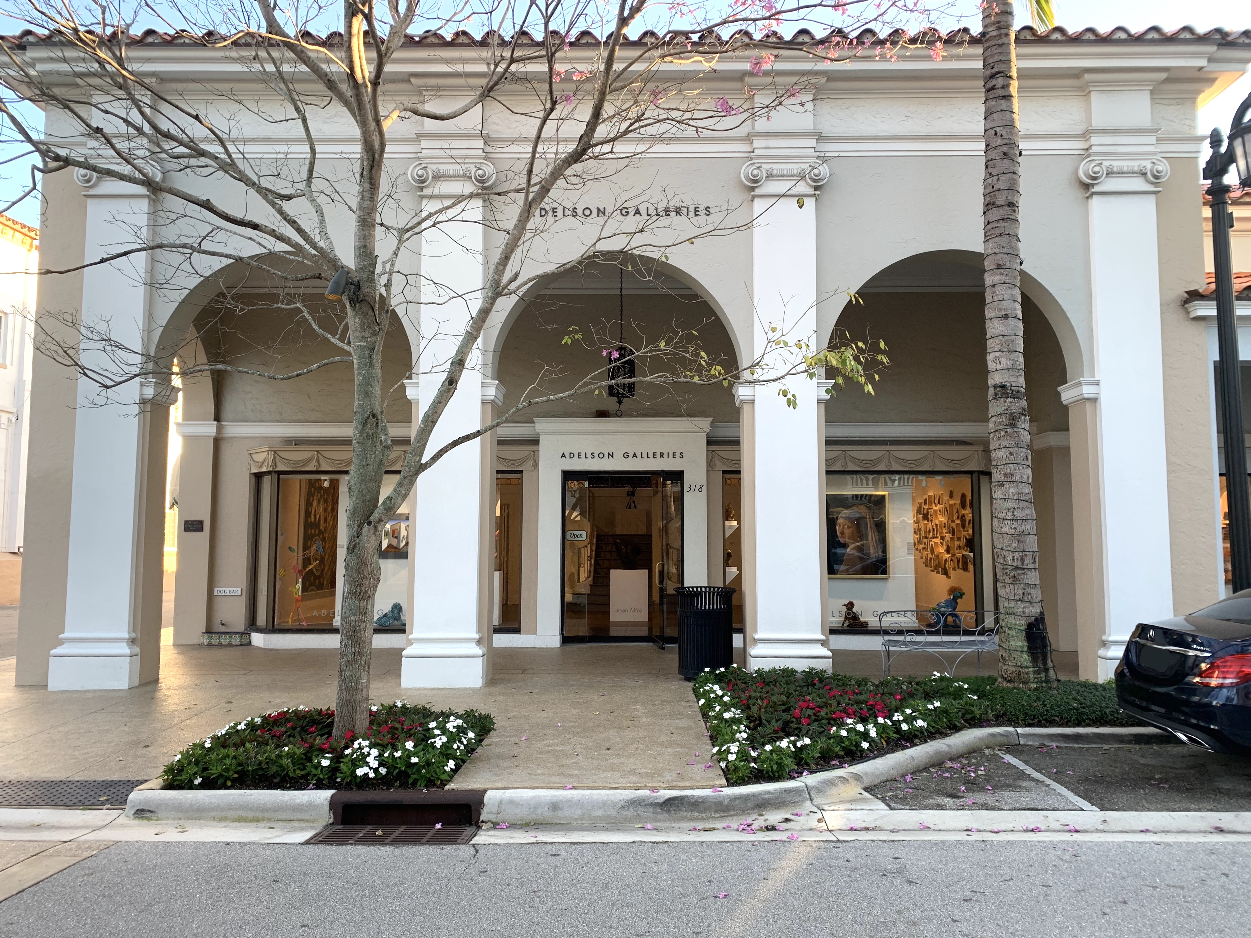 Adelson Galleries on Worth Avenue in Palm Beach.