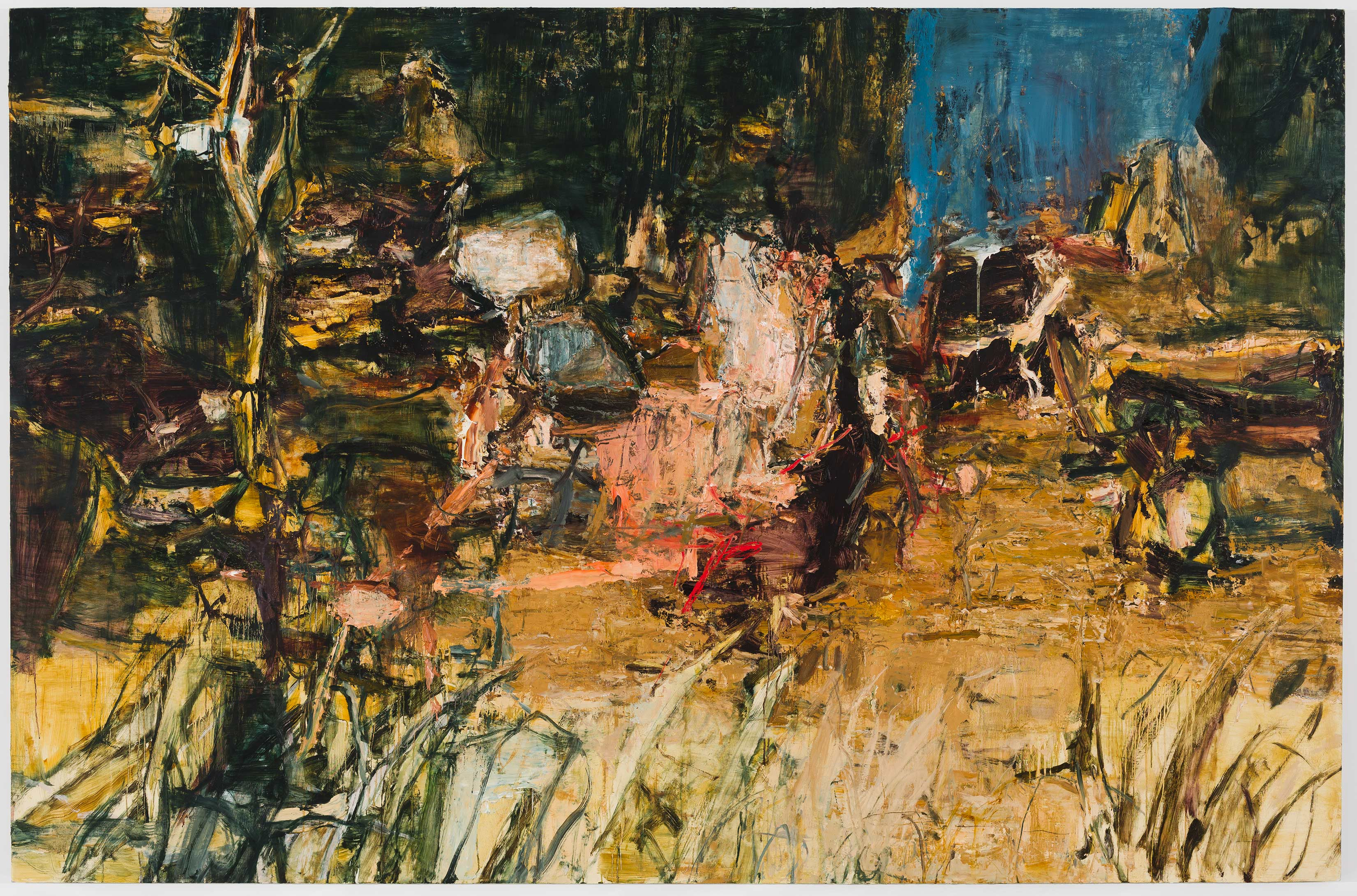 Tu Hongtao, Drunken Forest 2020 Oil on canvas 82 11/16 x 126 inches (210 x 320 cm) © Tu Hongtao