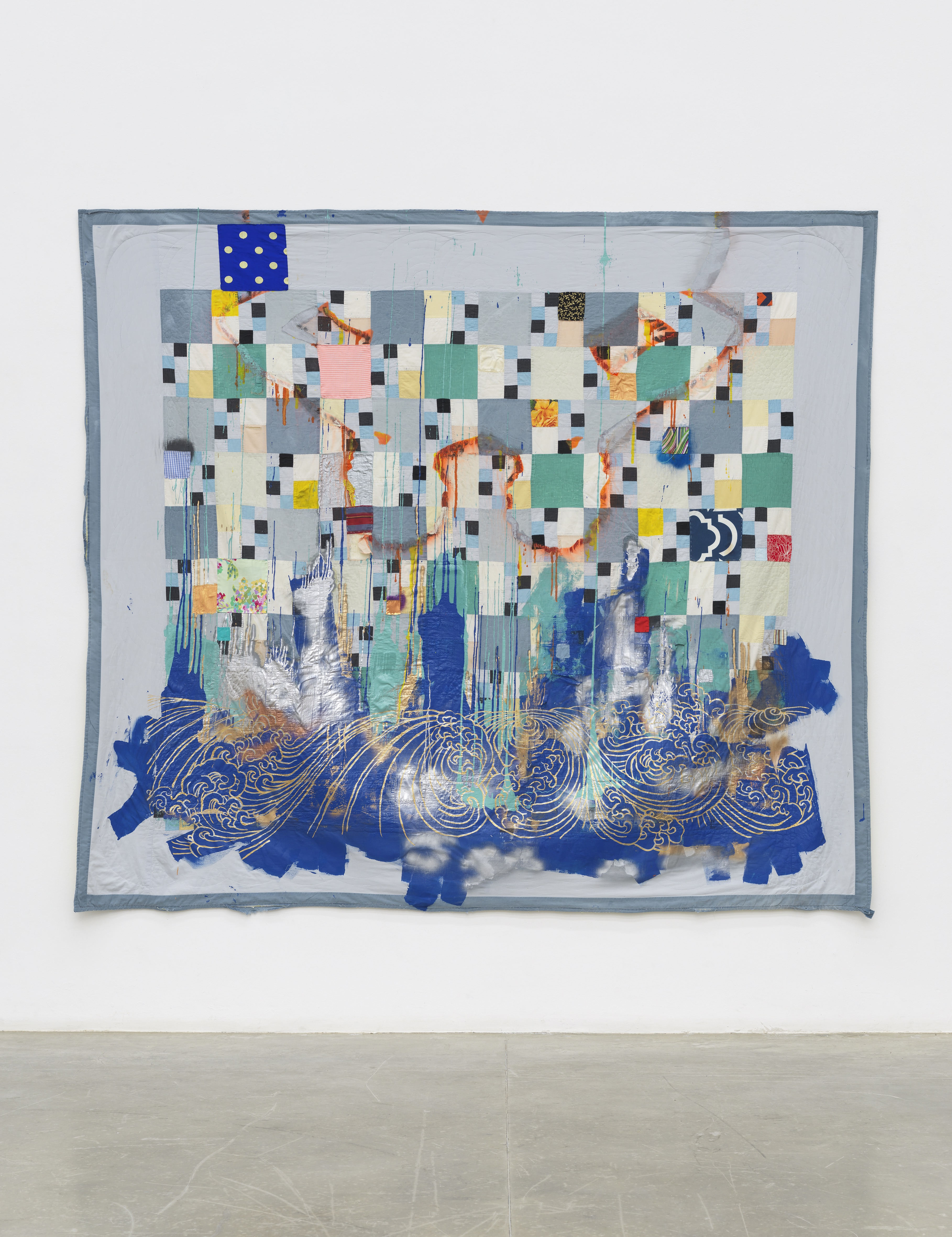 Sanford Biggers, Harlem Blue, 2013
