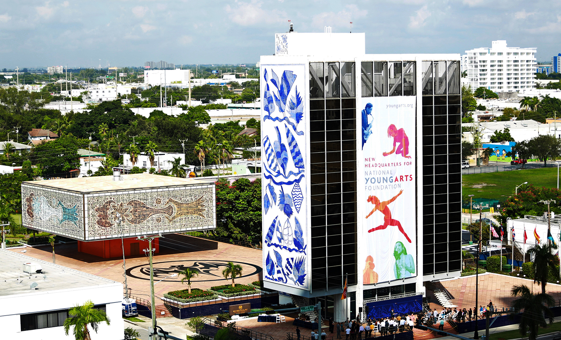 The National YoungArts Foundation headquarters in Miami. Photo: Tomas Loewy.